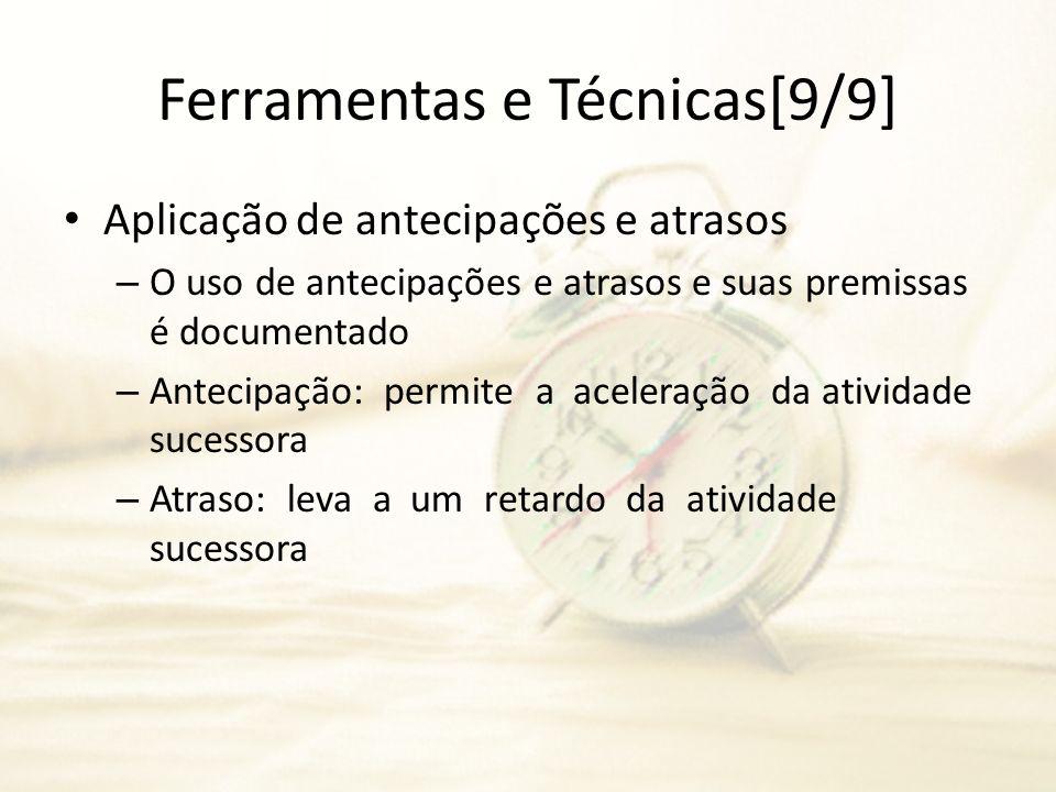 Ferramentas e Técnicas[9/9]
